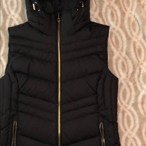 Michael Kors black and gold Vest